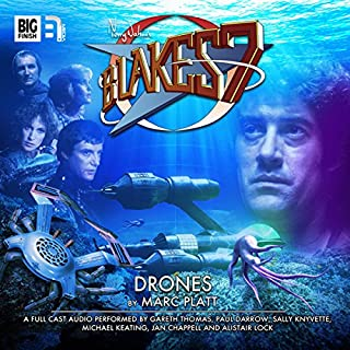 Blake's 7 - 1.3 Drones audiobook cover art