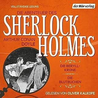 Die Beryll-Krone / Die Blutbuchen (Die Abenteuer des Sherlock Holmes) Titelbild