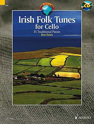 Irish Folk Tunes for Cello: 51 Traditional Pieces. Violoncello. Ausgabe mit CD. (Schott World Music)