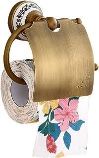 POA Bathroom Towel Rack Copper European Vintage Roll Holder Toilet Waterproof Toilet Paper Holder Project Hotel