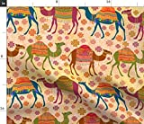 Kamel, Teppiche, Wüste, Franse Stoffe - Individuell