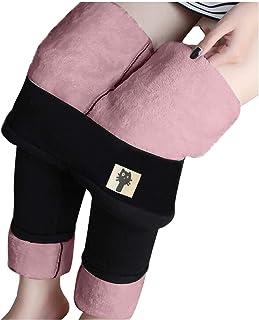 HAOTU Pantaloni Leggings,Elastici Leggings Donna Termici Leggins, Leggings Donna Termici Leggings a Vita Alta Stretti Inve...