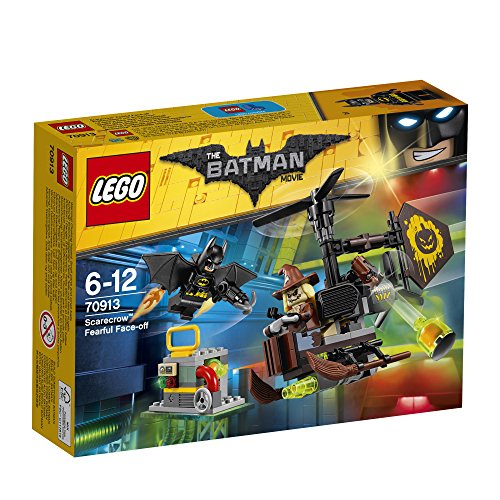 LEGO The Batman Movie - Terrorífica Batalla contra el Espantapájaros, Juguete de Construcción de Aventuras de la Película (70913)
