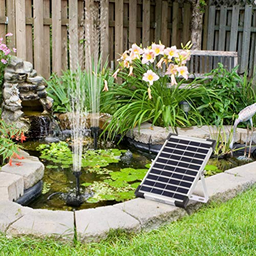 best solar bird bath fountain