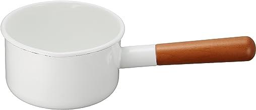 Made in Japan Noda Horo Pochika Milk Pan 12cm Enamelware