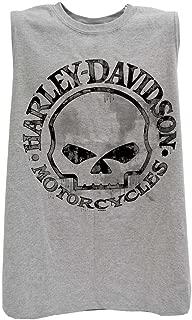 HARLEY-DAVIDSON Men's Willie G Skull Muscle Tank Top Sleeveless Tee 30296650