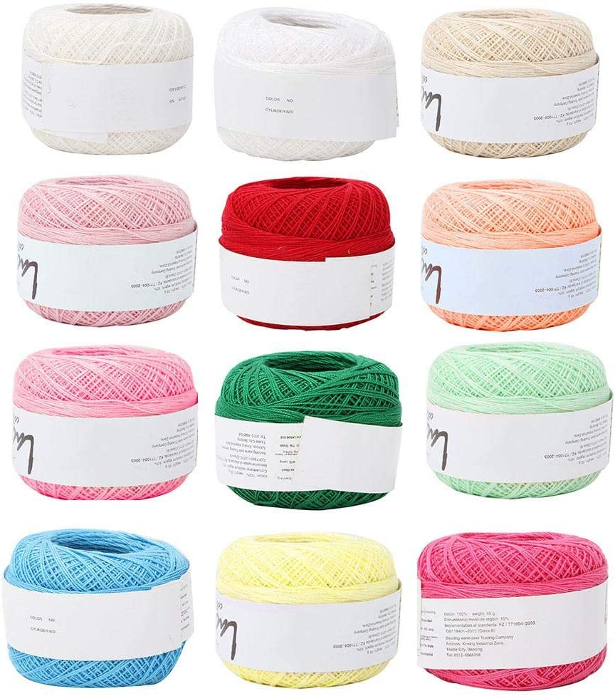 Popular Summer Silk Light Thin Line Cotton Lace Complete Free Shipping Crochet Thr Sale Special Price Yarn