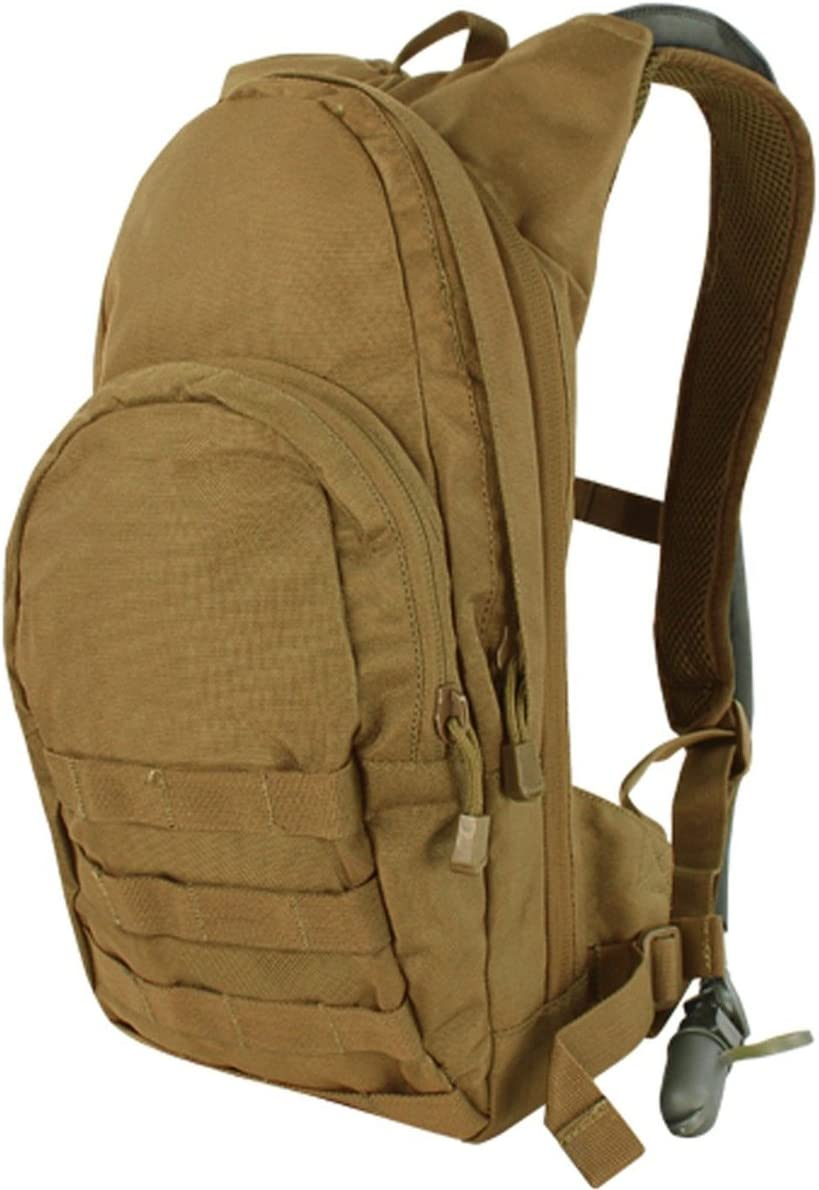 Condor Tactical Sales results No. 1 Hydration Louisville-Jefferson County Mall Pack with MOLLE Bladder 124-498 Coyote