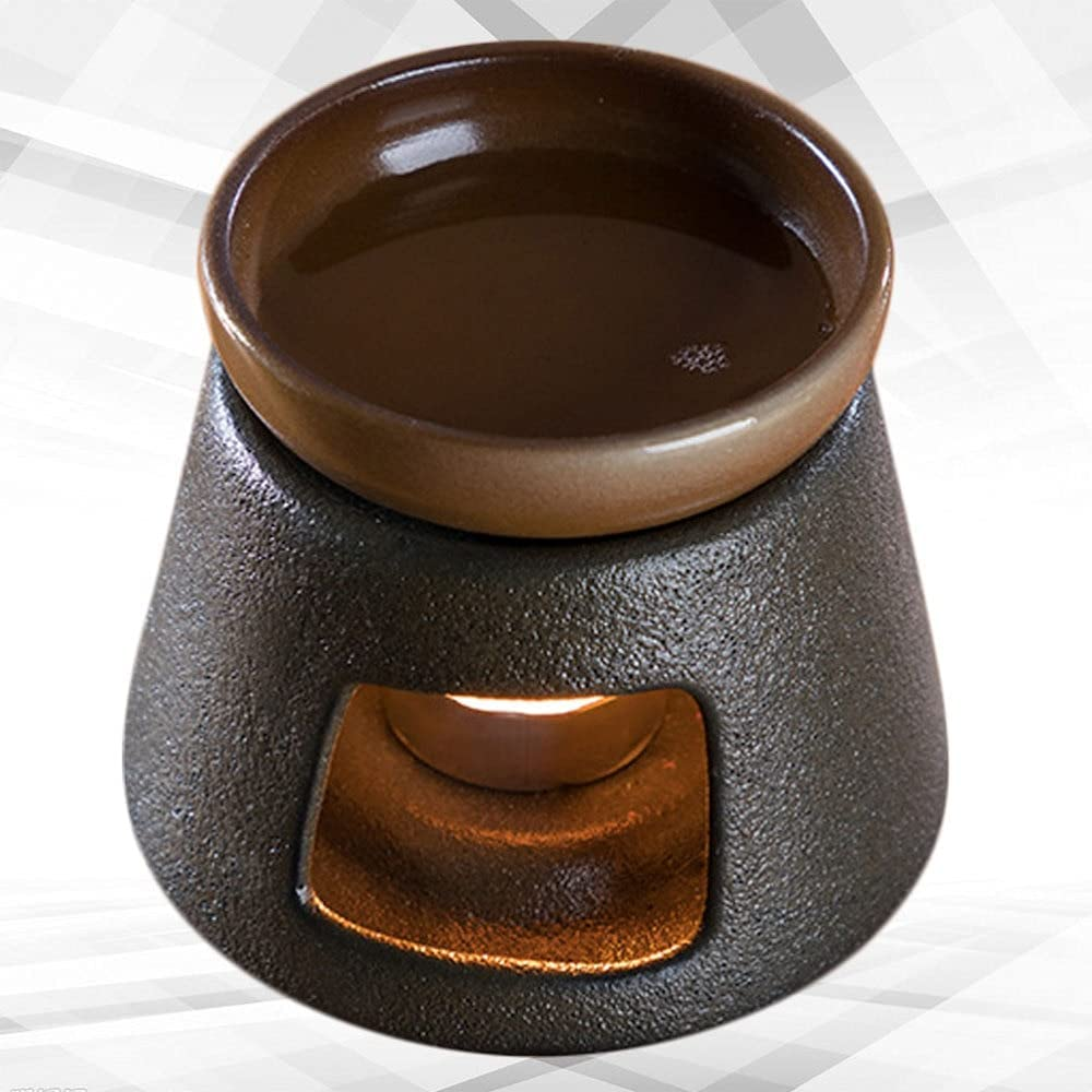 Alternative dealer acbtao124 1 Ranking TOP15 Set Candle Stand Tea Ceramic Cup Creat Coarse Warmer