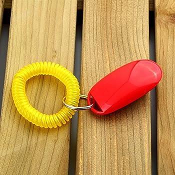 Sikete Dog Training Clicker Cat Pet Cliquez Agilit¨¦ Ob¨¦issance Entra?neur Rouge