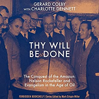 Thy Will Be Done audiobook cover art