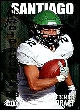 2019 SAGE Hit Premier Draft #7 John Santiago North Dakota Football Card