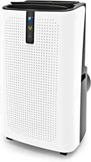 JHS 14,000 BTU Portable Air Conditioner, 3-in-1 Floor AC Unit with 3 Fan Speeds, Remote Control and Digital LED Display, Cover 400 Sq.Ft