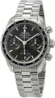 Omega - Speedmaster - Reloj (Reloj de pulsera, Acero inoxidable, Acero inoxidable, Acero inoxidable, Acero inoxidable, Zafiro)