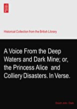 A Voice From the Deep Waters and Dark Mine; or, the Princess Alice? and Colliery Disasters. In Verse.