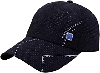 Baseball Cap for Men Summer Cotton Cap Outdoor Golf Sun Hat Fashion Breathable Sport Hat