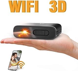 ミニ プロジェクター DLP 小型 Artlii Mana 3D対応 HDMI 対応 大角度 自動台形補正 WIFI機能支持 3時間連続使用 5200mAh充電式バッテリー内蔵 モバイルオフィスや家庭での使用をサポート