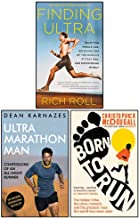 Finding Ultra, Ultramarathon Man, Born To Run 3 Books Collection Set