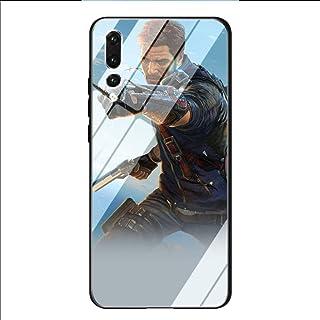 YAOYANG LY-36 Just Cause Dise?Ado para Huawei Y6 2018 Vidrio Templado TPU A Prueba de Polvo Resistencia a la abrasión Resistencia al Impacto Funda Protectora