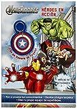 Los Vengadores. Héroes en acción: Libro con llavero (Marvel. Los Vengadores)