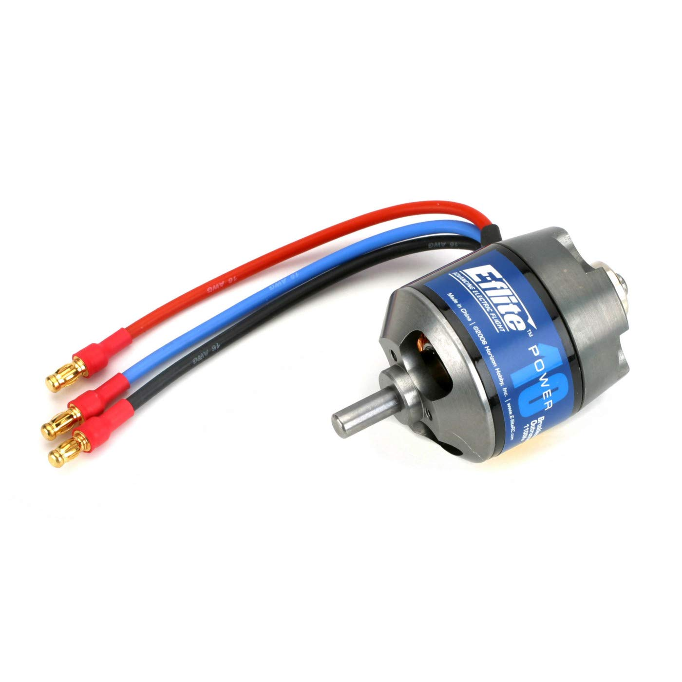 E-flite Power 10 Brushless Outrunner Motor, 1100Kv: 3.5mm Bu