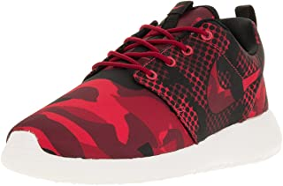 Nike Men's Roshe One Print, DARING RED/BLACK-GYM RED-TEAM RED, 7 M US
