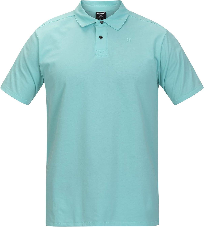 Hurley Men's Harvey Short Sleeve Polo with Nike Dri-fit