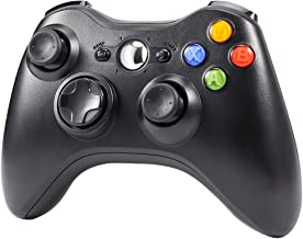 $25 » CrazyFire Wireless Controller for Xbox 360 Wireless Gamepad with 2.4GHz Receiver for Xbox 360,PS3,PC Windows 7/8/10,Android(Black)