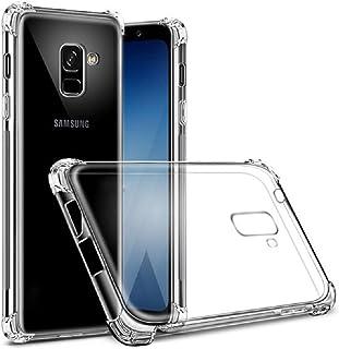 7927df117d6 ZealBea Focus Funda Samsung Galaxy A6+, Funda Transparente Suave TPU Gel  Funda de Silicona Flexible