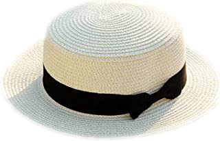 New Female Sombreros Women Summer Hat Classic Black Girdle Panama Hat Beach Hats for Women Chapeau De Paille Femme