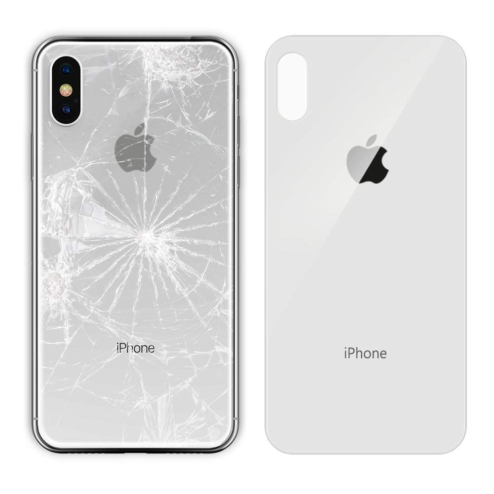 Apple iPhone X Replacement Back Glass Cover Back Battery Door w ...
