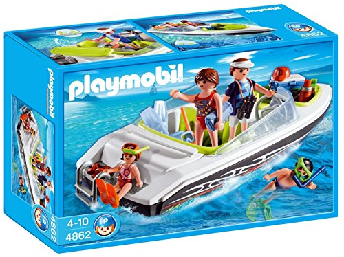 Playmobil 4862 - Schnittiges Sportboot