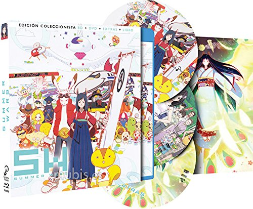 Pack: Summer Wars BD + DVD + DVD de Extras + Libro de...