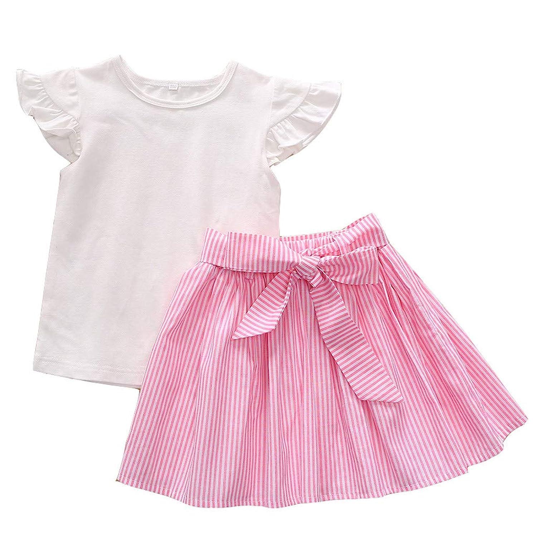 子供服 男の子 女の子 パジャマ ベビー服 Hostelmトップスパンツ 寝間着 ストライプ柄 丸首 半袖tシャツ 2点セット スウェット セットアップ 半袖 赤ちゃん服 1-5歳 男女兼用 通園 運動着