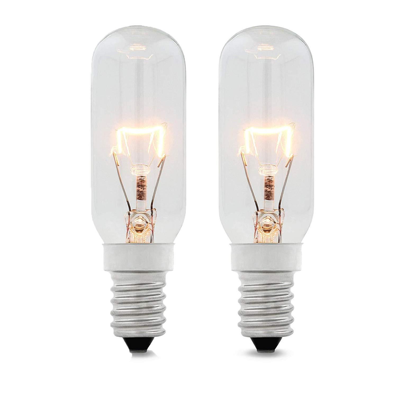 Reliapart E14 SES - Bombillas largas de 40 W para campana extractora Zanussi (2 unidades): Amazon.es: Grandes electrodomésticos