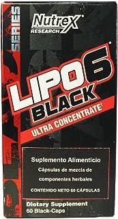 LIPO-6 Black, Ultra Concentrate, 60 Black-Caps (60)