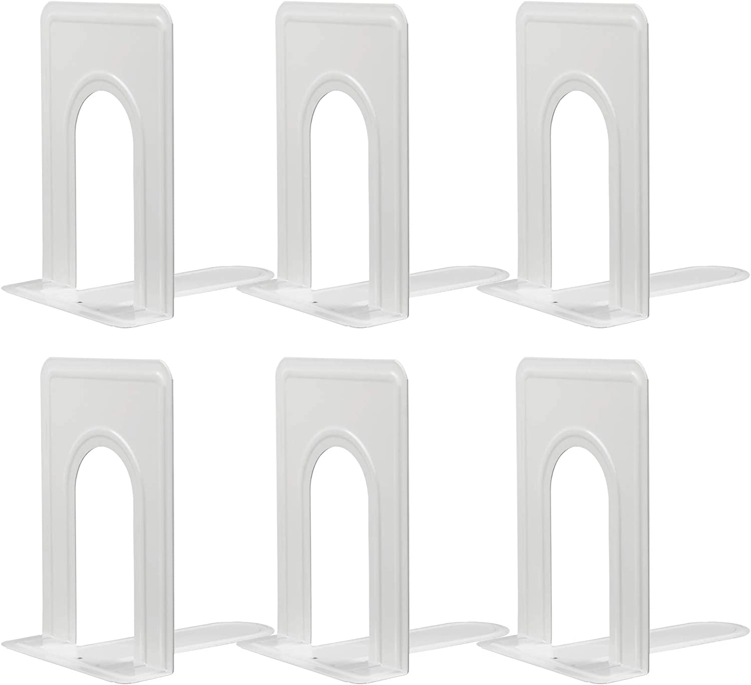 Bookends SALENEW very popular In stock Nonskid Metal Bookend Supports Shelves for Duty Heavy