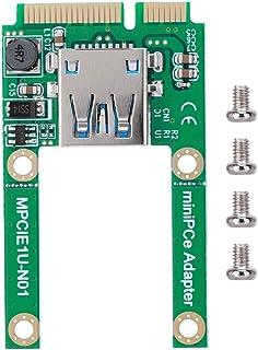 mSATA till USB-omvandlingskort, mini PCI-E expansionsomvandlingsadapter USB2.0 mPCI-E för trådlös USB-musmottagare, USB-bl...