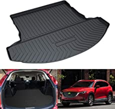 Mixsuper CX9 Cargo Liner Durable Odorless All Weather 3D Rear Behind 2nd Row Trunk Floor Mat for Mazda CX-9 2016-2020