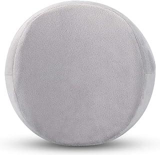 YYBF Memoria algodón Clip Pierna Almohada Multifuncional de la Pierna Lento Rebote Hermosa Almohada de la Pierna 26 * 20 * 15cm Gris Redondo