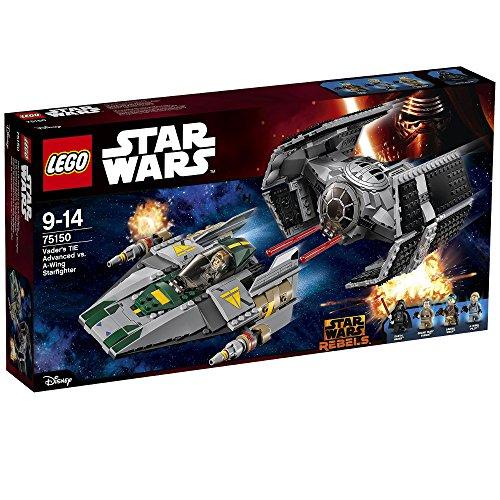LEGO Star Wars 75150 - Vader's TIE Advanced vs. A-Wing Starfigh