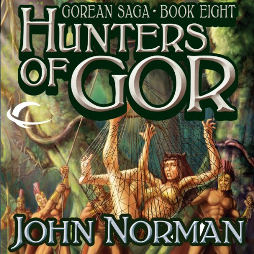 Hunters of Gor audiobook cover art