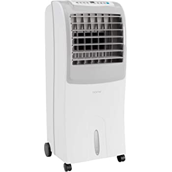 hOmeLabs Evaporative Cooler - Portable Cooling Fan with 3 Wind Modes, 3 Speeds, Timer, Humidifier and Auto Shut Off Function - with 10 Liter Ice Water Tank Capacity - Cools Room up to 200 Square Feet