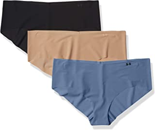 Under Armour Womens Pure Stretch Hipster Underwear, 3-Pack
