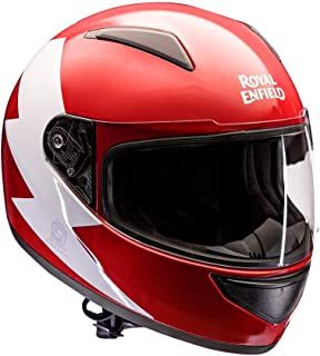 Royal Enfield Bolt FF Helmet Red XL-620 mm