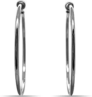 Best hoop earrings clip on Reviews