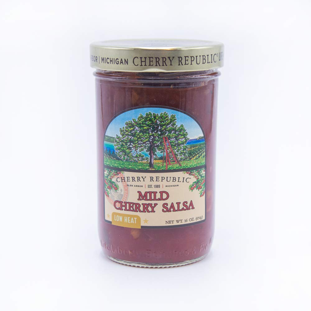 Cherry Republic Mild Salsa Challenge the lowest price of Japan - Heat Flav Sweet Low Oakland Mall Chunky