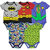 Superman Classic Logo Baby Onesie Bodysuit (24...