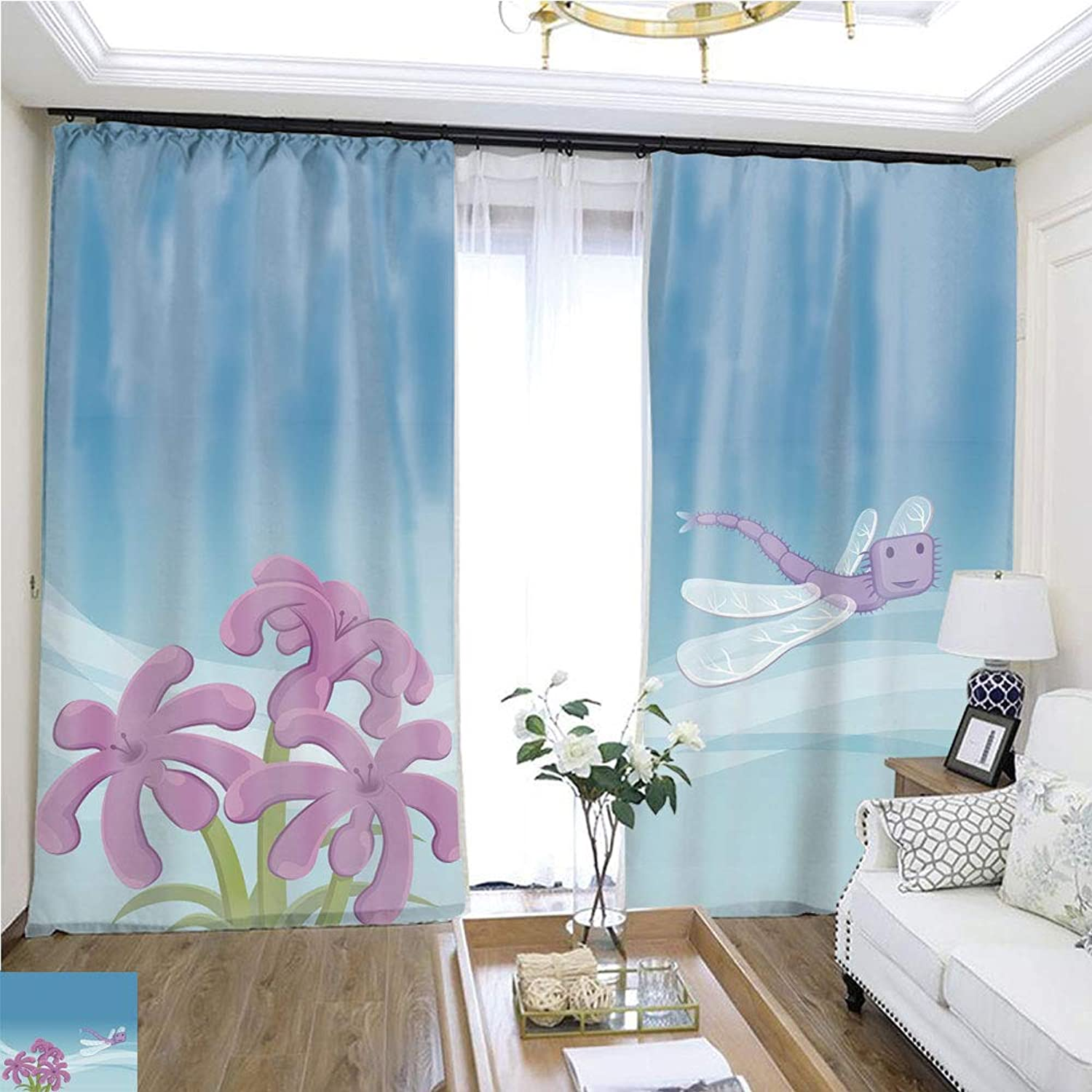 Air Port Screen Dragon Fly W96 x L84 Provide Heat Highprecision Curtains for bedrooms Living Rooms Kitchens etc.