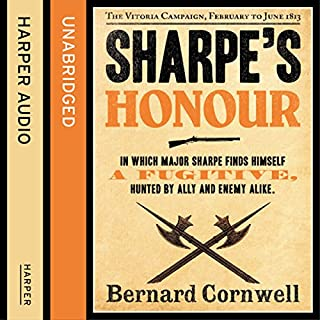 Sharpe's Honour: The Vitoria Campaign, February to June 1813     The Sharpe Series, Book 16              Auteur(s):                                                                                                                                 Bernard Cornwell                               Narrateur(s):                                                                                                                                 Rupert Farley                      Durée: 11 h et 23 min     8 évaluations     Au global 4,9